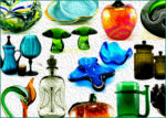 View all vintage glassware and art glass in the Retro Art Glass catalog