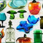 Retro Art Glass and Glassware