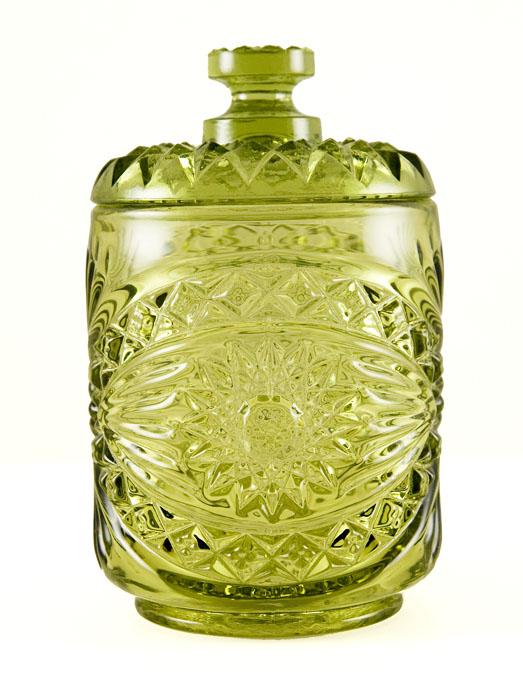 Vintage Glass Green