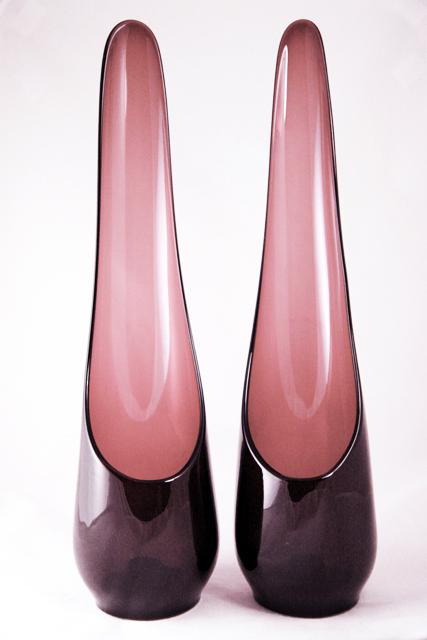 Swedish Modern Decor Tall Candle Holder Set