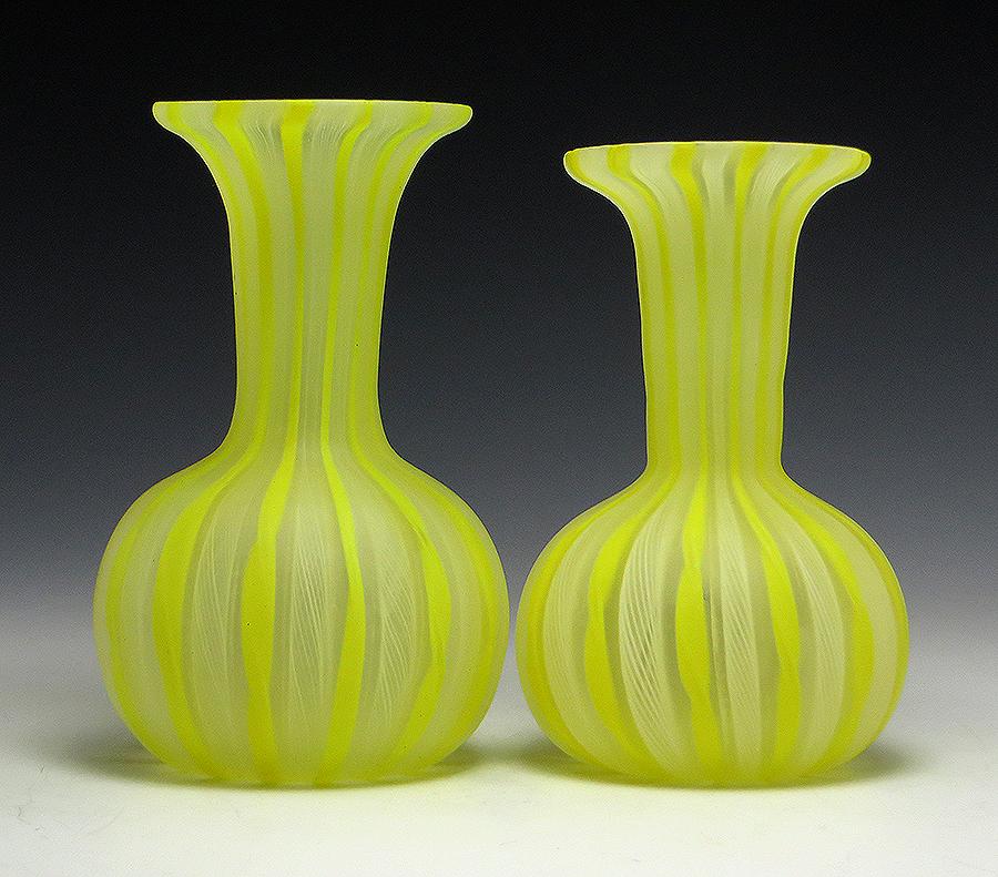 from Coen vintage blown glass vase